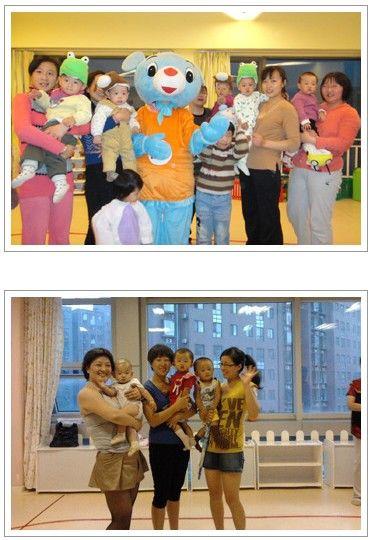 各种节日东方爱婴都会举办一系列的主题活动,这是感恩节活动的照片分享